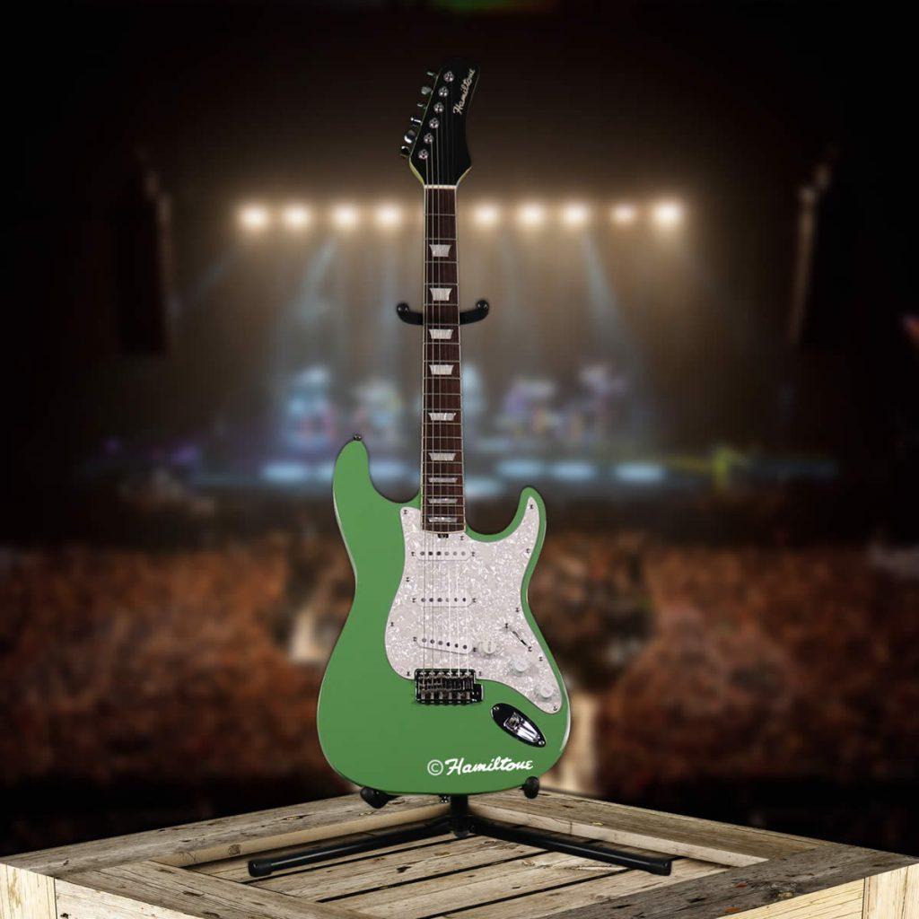 Hamiltone Green Electric Guitar