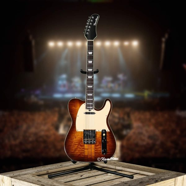 Hamiltone Tele Style Electric Guitar