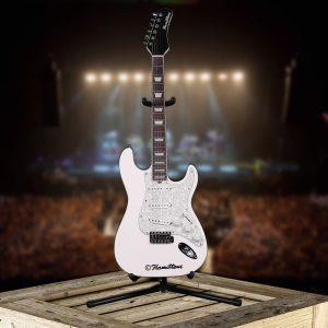 Hamiltone White Electric Guitar