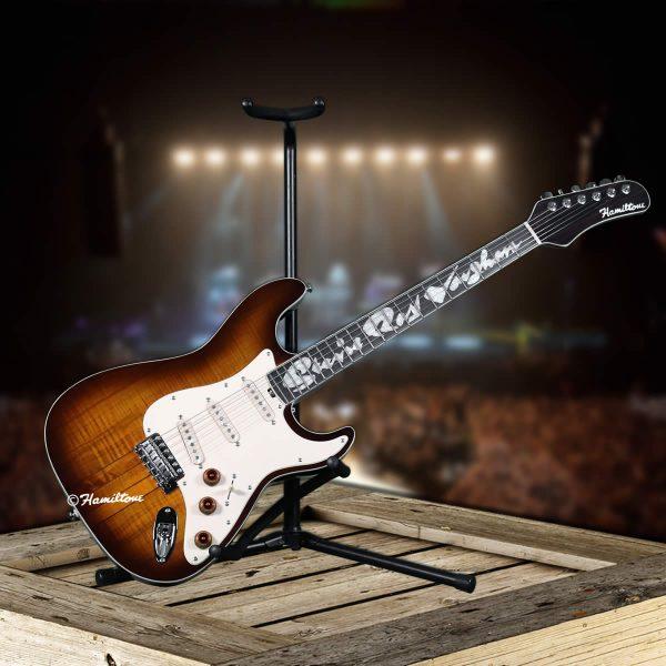 Steveie Ray Vaughan Electric Guitar